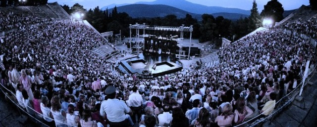 Ancient theatre of Epidaurus _ Festival